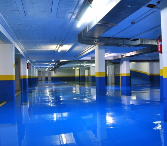 Pintura Garaje. Pontevedra